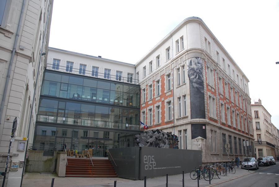 façade de l'ENSA St Etienne
