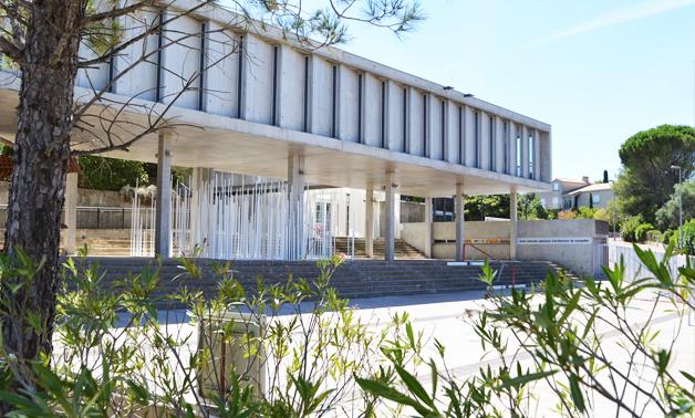 locaux de l'école d'architecture de Montpellier : ENSAM