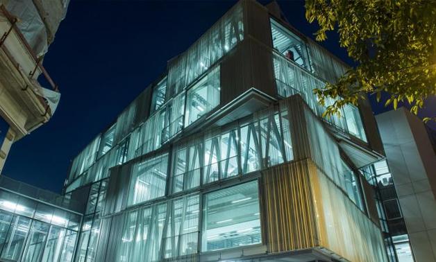 locaux de l'école d'architecture de Strasbourg : l'ENSAS
